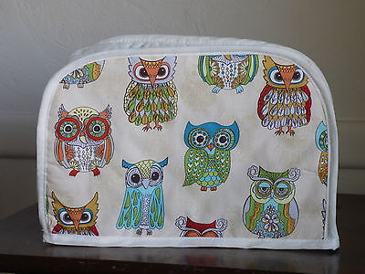 OWLS 2 SLICE TOASTER APPLIANCE COVER, NEW