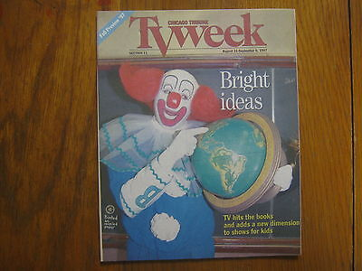 August  31   1997  Chicago  Tribune  Tv  Week  Bozo  The  Clown Wimzies  House