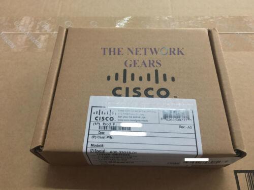 New Cisco NIM-2GE-CU-SFP 2-Port GE WAN NIM WAN Network Interface Module