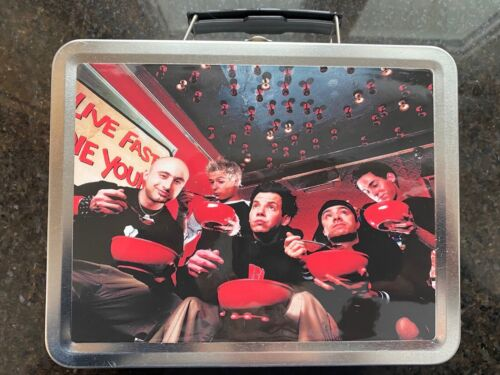 SIMPLE PLAN No Pads No Helmets Promotional Lunch Box (2002) NEW!!!