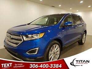 2018 Ford Edge Titanium|AWD|V6|CAM|NAV|Leather
