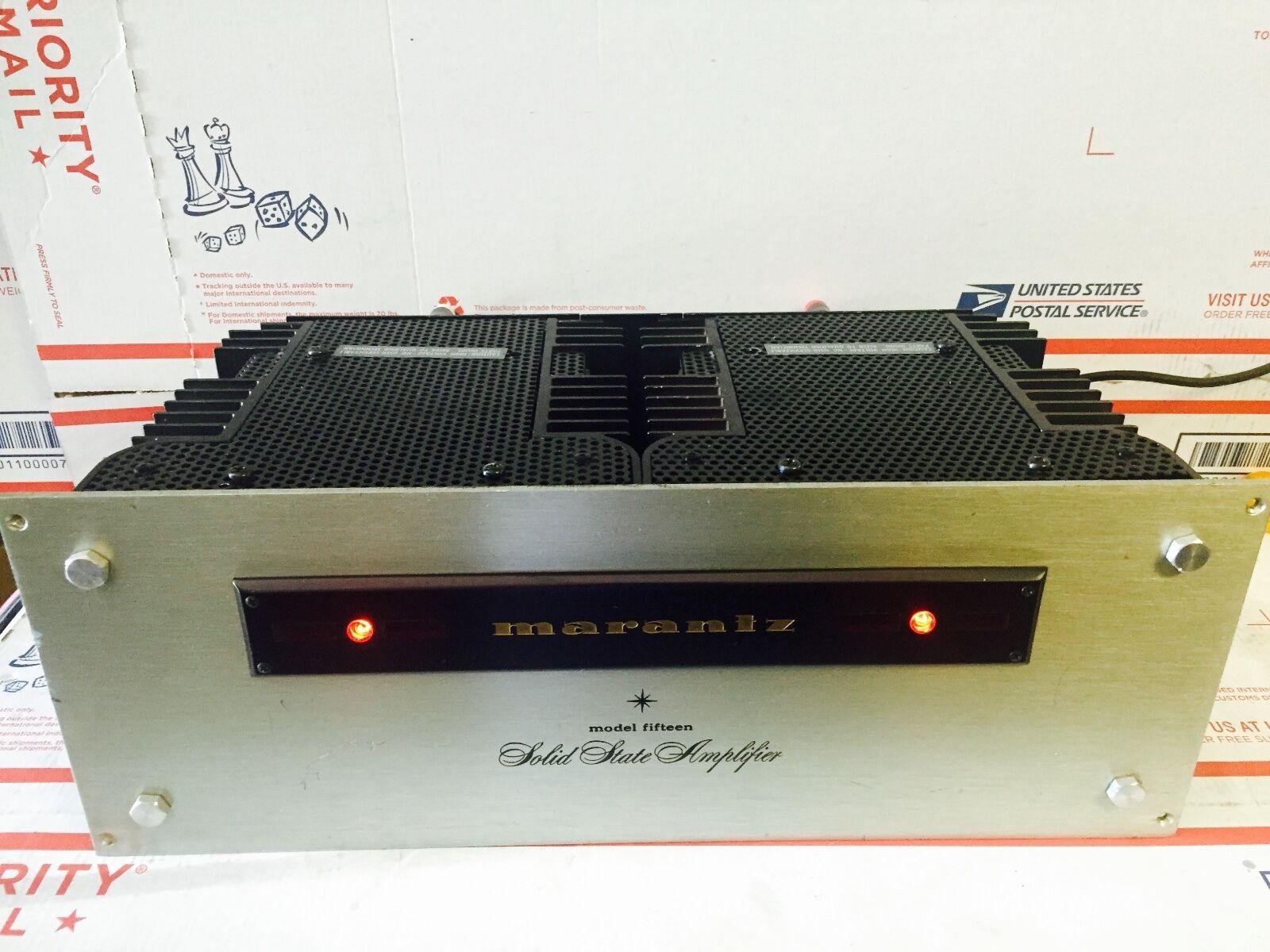 Marantz Model Fifteen 15 Power Amplifier Stereo Amp | Wundr-Shop