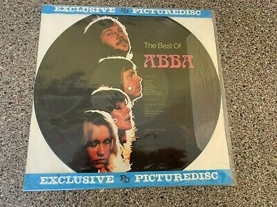 Abba The Best Of PICTURE DISC Rare Stunning Original LP