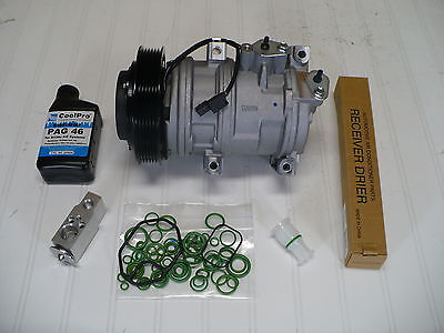 New A/C AC Compressor Kit for 2010-2013 Acura ZDX (3.7L)