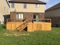 Blue Sky Fence and Deck