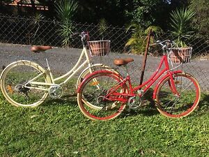 Fusion Classic Vintage Retro Ladies Bikes Tallai Gold Coast City Preview
