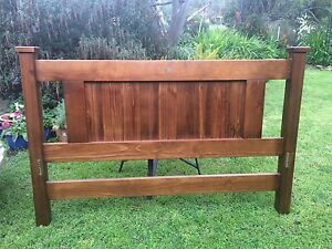 King size bed frame / Rustic Country Tea Tree Gully Tea Tree Gully Area Preview