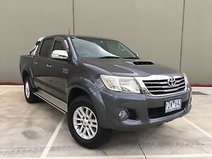 2012 Toyota Hilux KUN26R MY12 SR5 Double Cab Graphite Automatic Campbellfield Hume Area Preview