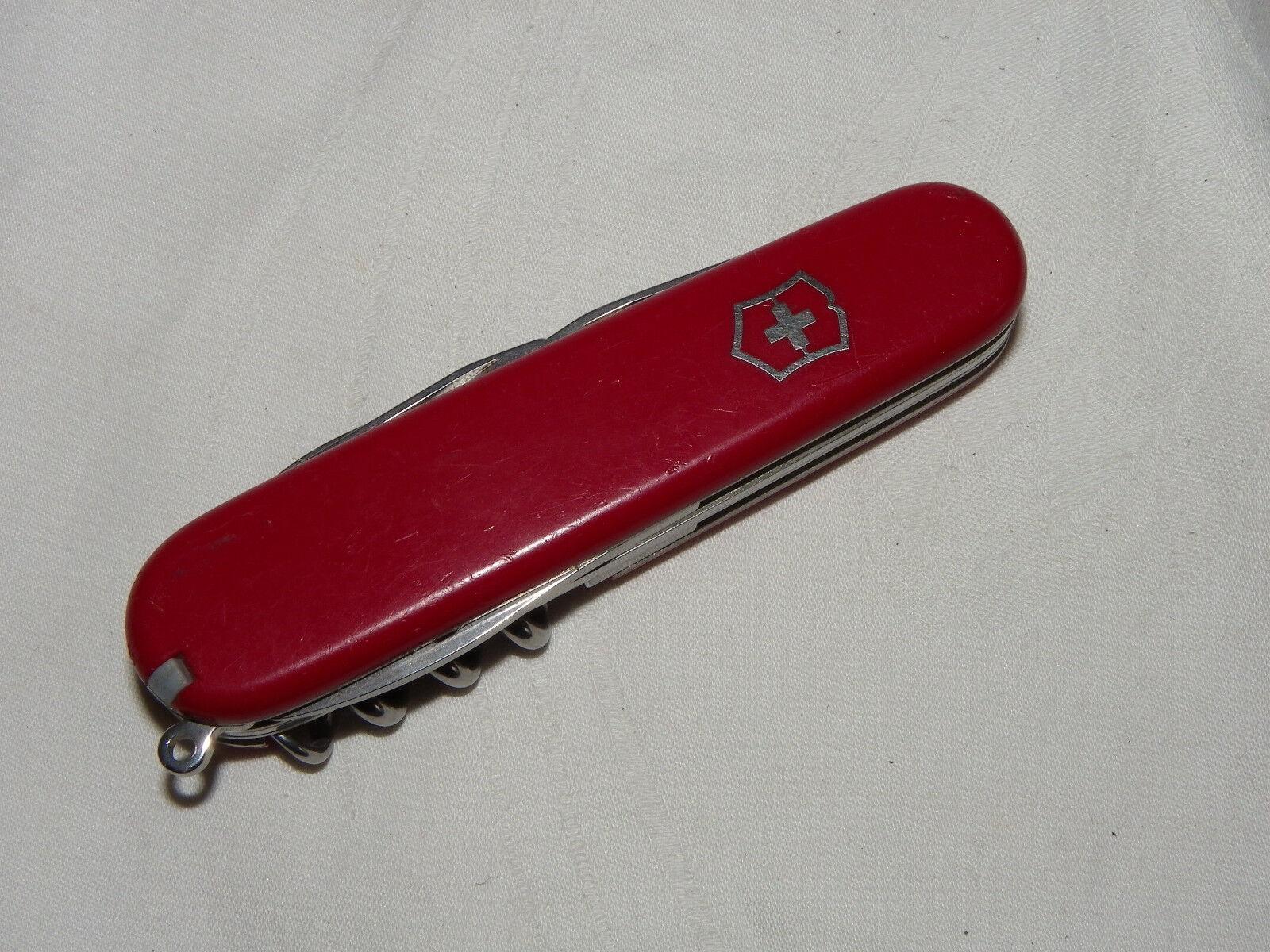 Victorinox Taschenmesser 8-teilig (inkl.Zahnstocher+Pinzette) Switzerland   #018