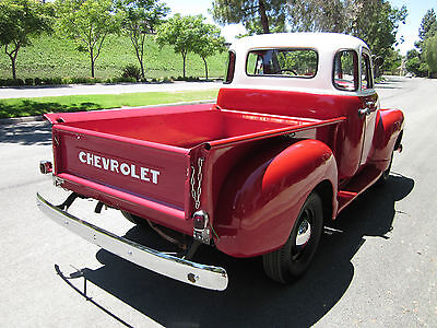 1952 chevy 3100 pickup deluxe 5 window cab all original restored used chevrolet other pickups. Black Bedroom Furniture Sets. Home Design Ideas