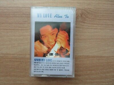 Alex To 杜德偉 - My Love 1994 Korea Cassette Tape No Barcode SEALED NEW