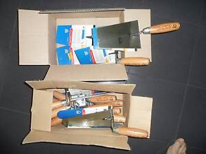 BULK SALE! NEW 16 X PLASTER AND BRICK TROWELS. CHEAP AS ! Chatswood Willoughby Area Preview