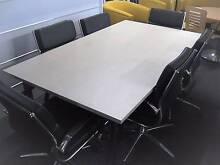 Boardroom Table and Chairs Karabar Queanbeyan Area Preview