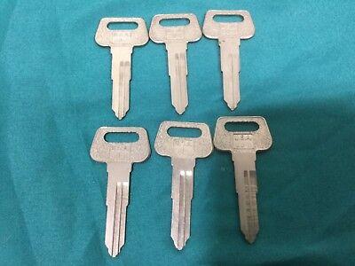 Curtis Ma Brand Key Blanks For Yamaha Set Of 6 - Locksmith