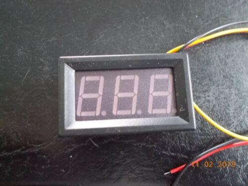 New 12 Volt 7 Segment x3 (888) Display with Circuit Board & Housing