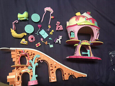 My Little Pony Sweet Sundae Ponyville Amusement Park Roller Coaster (My Little Pony Ponyville Sweet Sundae Amusement Park)