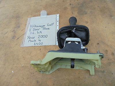 VOLKSWAGEN GOLF 1.6 SR 5 DOOR GEAR STICK LINKAGE ASSEMBLY MARK 4 2000