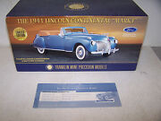 Franklin Mint Lincoln Continental