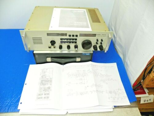 RARE Drake TR4310 Commercial HF Transceiver with Upgraded Drake PS7 w/Manual
