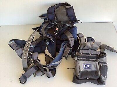 Used 3m Dbi-sala Exofit Nex Fall Protection Harness 1113191 Medium 3