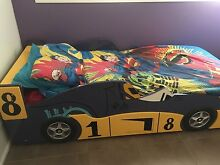 Kids racing car bed. Bligh Park Hawkesbury Area Preview