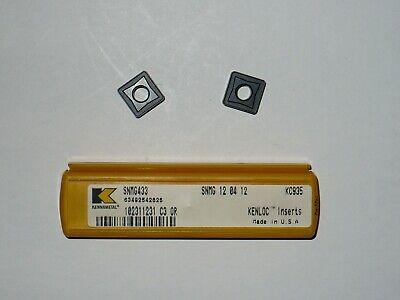 Kennametal Carbide Turning Insert Snmg433 Kc935 - Lot Of 3 Pcs.