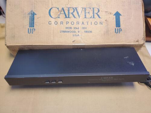 Carver Asymmetrical Stereo Decoder Model TX1-11 Rare FM Tuner Enhancer Booster