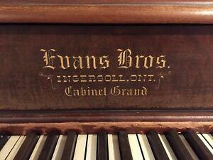 FREE  Evans Bros. Upright Piano