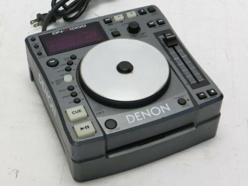 Denon DN-S1000 DJ CD Player Turntable