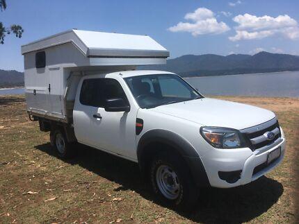 Slide on camper 8 month old $12000 ,Car price $11000 neg Atherton Tablelands Preview