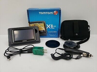 TomTom XL 340-M GPS Navigator with Maps - N14644 - Tested Works!