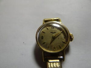 Longines Lady 18k Gold vintage watch(sell/trade)