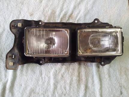 Subaru Brumby Twin Right Side Headlight Bracket and Lights Paget Mackay City Preview