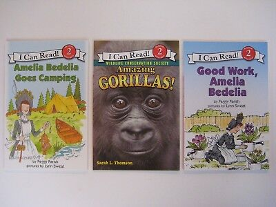 BRAND NEW  -- I Can Read Level 2 -- BOOK SET (Lot of 3 Books) -- Paperback