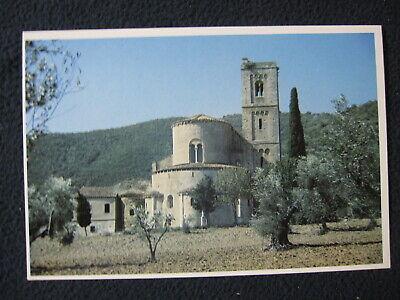 Abbazia Di Sant' Antimo XII Siena Montalcino Italy Postcard