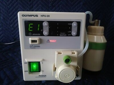 Olympus Hpu-20 Heat Probe Unit With Bottle A1-3