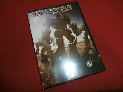 TRANSFORMERS: BEGINNINGS DVD (2007) Widescreen ROBOTS IN DISGUISE! Free Shipping