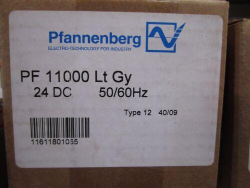NEW PFANNENBERG FILTER FAN PF 11000 11611801055 24V LT GRAY