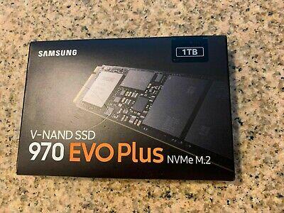BRAND NEW Samsung - 970 EVO Plus 1TB Internal PCI Express 3.0 x4 (NVMe) SSD