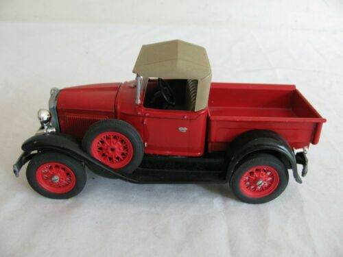 Scale Models Die-Cast 1/20 Scale 1929 Ford Model A Pickup Truck Built Kit VG