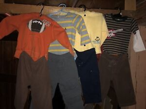 Boys 12-18 month winter clothing lot