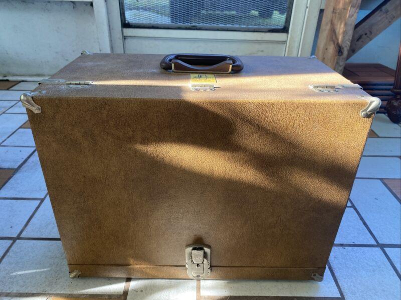 Vintage Packmayr Super Deluxe Lok Grip Shooters Case Holds 4 Pistols
