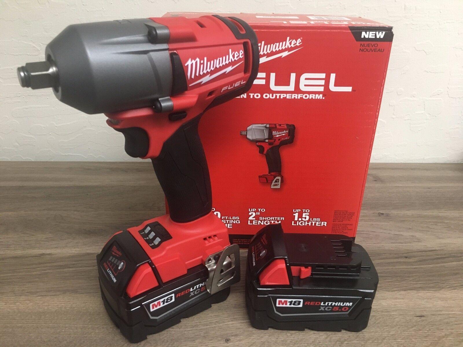 New Milwaukee Fuel M18 2861-20 18V 1/2