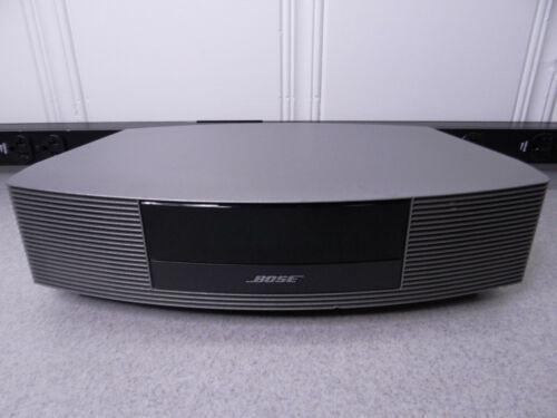Bose Wave Music System III Radio AM/FM Alarm Silver  Graphite