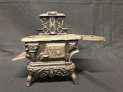 Old Cast Iron Woodburning Stove Salesman Sample