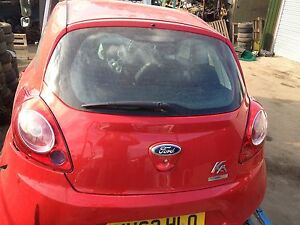 ford ka  2009-2013 red boot tailgate 3 door model
