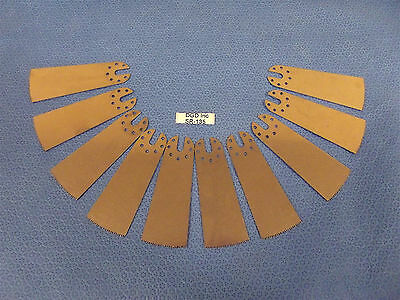 Lot Of 10 Surgical Oscillating Saw Blades3 12 Total Length1 14 Widesr134