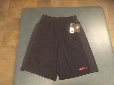 Gametime Basketball Shorts (And1 Men's Small Navy Blue Athletic Shorts Basketball Gametime Shorts NWT)