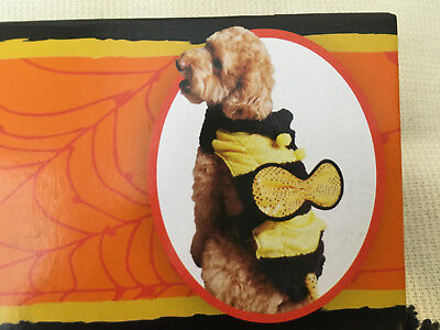 Halloween Bumble Bee Costume for Dog,  Size: 12in (30.5cm) , Brand New
