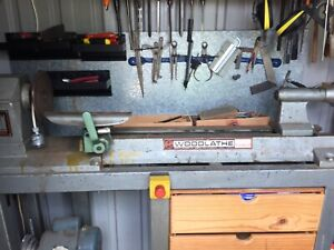 Woodfast wood lathe mc900 and all accessories Isaacs Woden Valley Preview